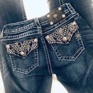 Miss Me Mid- Rise Bootcut Jeans